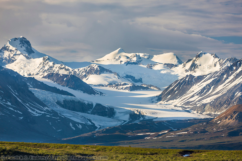 Maclaren glacier, Alaska range