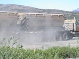 Truck-Fugitive Dust
